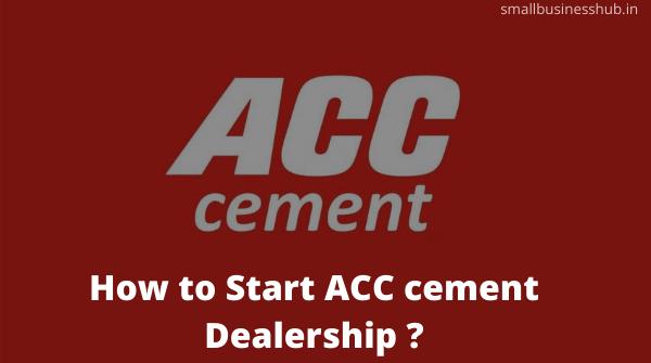 acc cement dealership