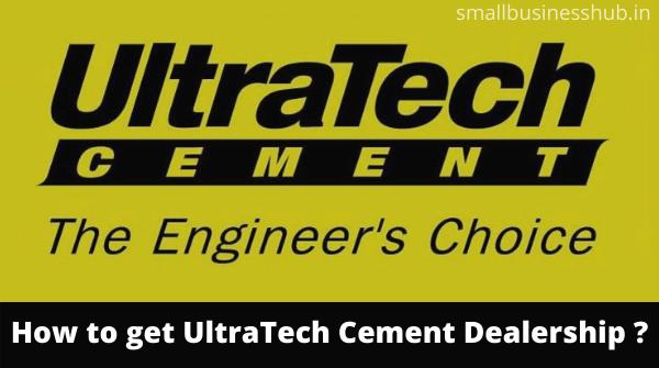 ultratech cement dealership