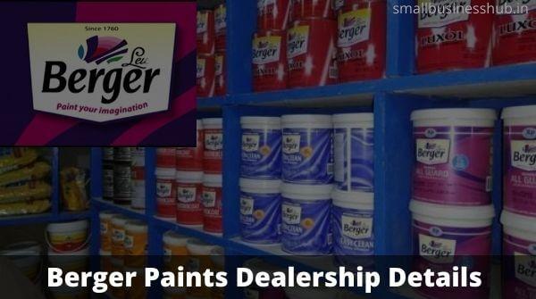 Berger Paints dealership